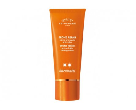 ESTHEDERM BRONZ REPAIR ANTI WRINKLE CREAM** NORMAL TO STRONG SUN - opalovací krém proti vráskám** 50ml